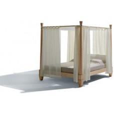 Кровать на каркасе из клена Temenos, Giorgetti